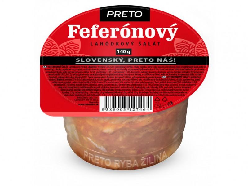 Feferónový šalát