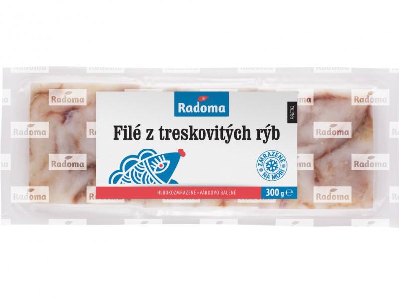 Filé z treskovitých rýb, VB, 3x100 g