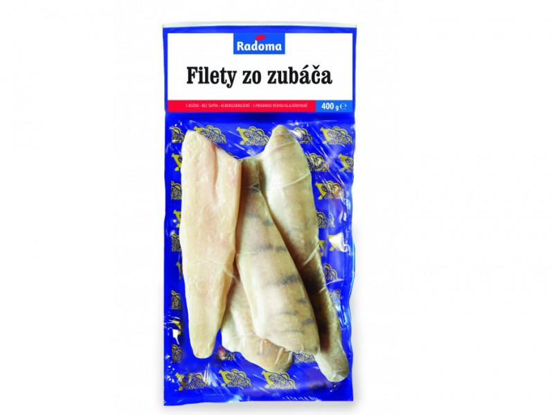 Filety zo zubáča s kožou, glazúra 10%, 400 g
