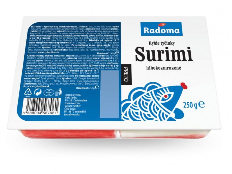 Rybie tyčinky Surimi 250 g