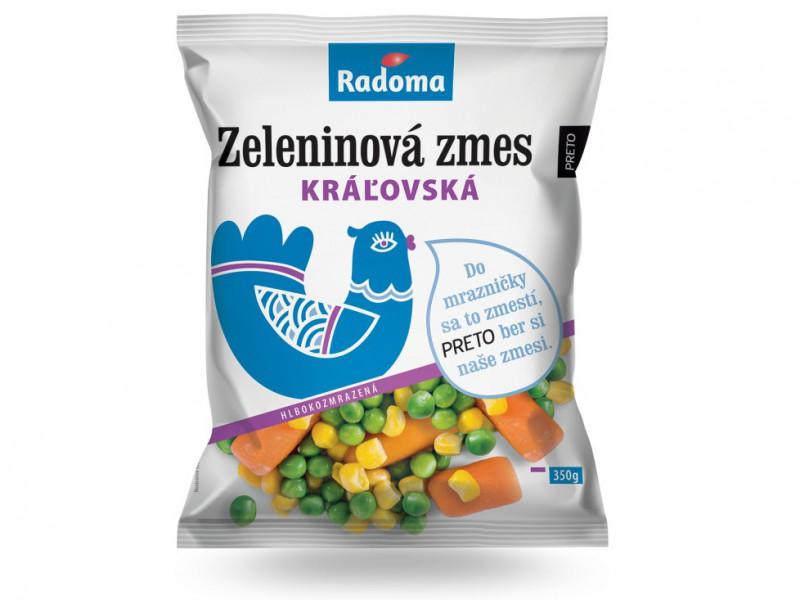 Zeleninová zmes kráľovská 350 g