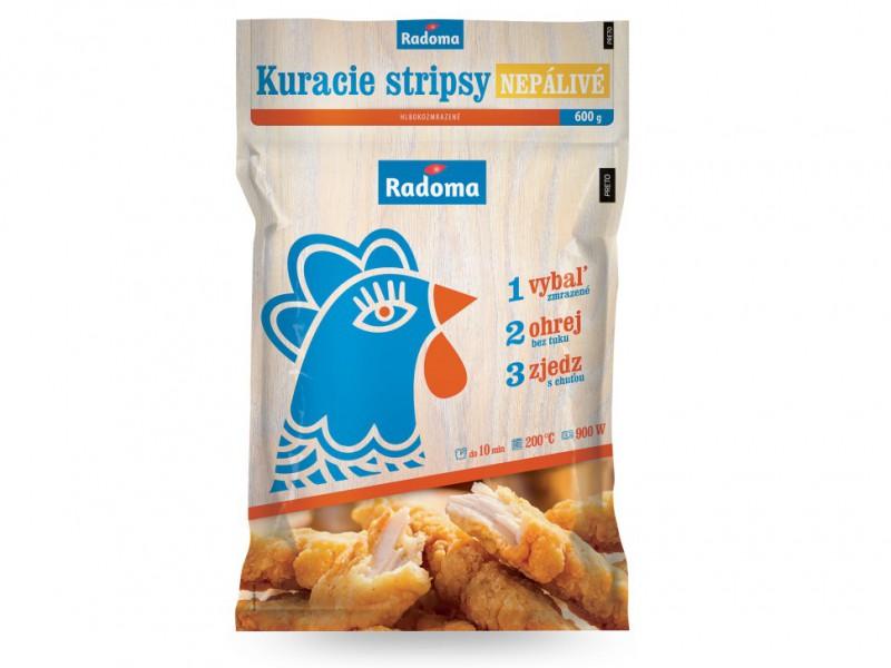 Kuracie stripsy nepálivé 600 g