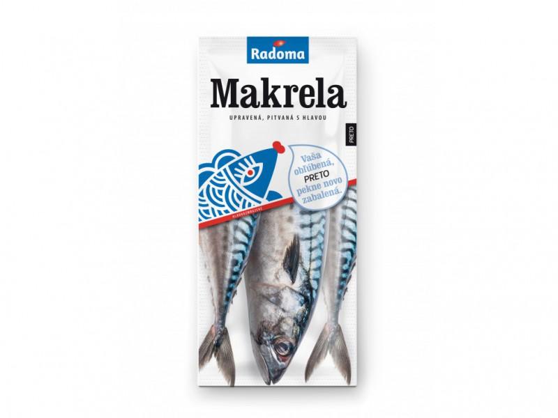 Makrela upravená cca1kg RADOMA