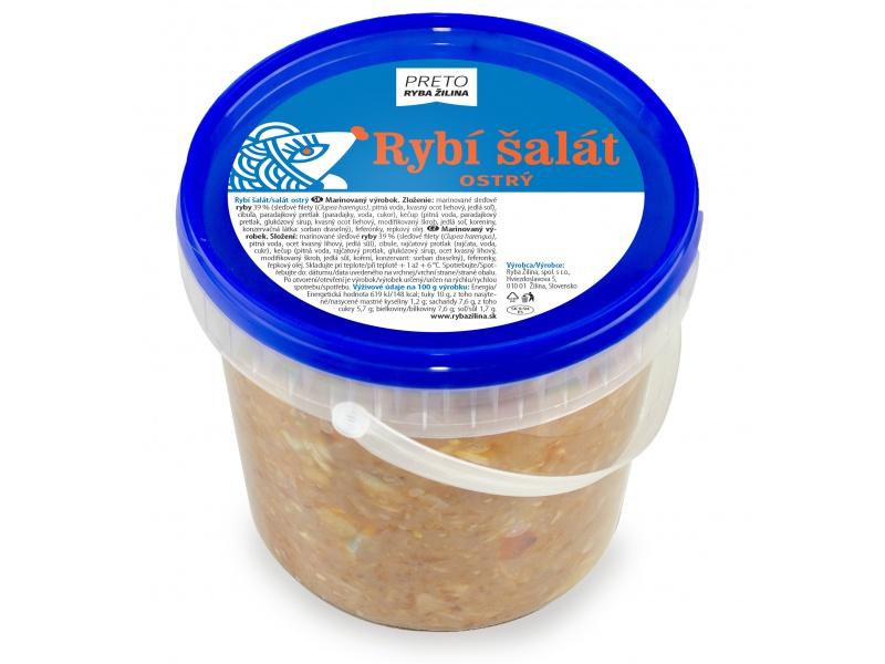 Rybí šalát ostrý 1 kg