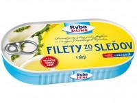 Filety zo sleďov v oleji, 170 g