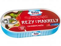 Rezy z makrely v paradaj. omáčke, 170 g