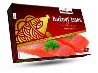Ružový losos Exklusiv (porcie z filety) bez kože Radoma, 250g