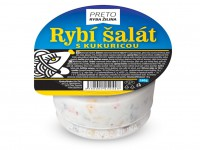 Rybí šalát s kukuricou, 140 g