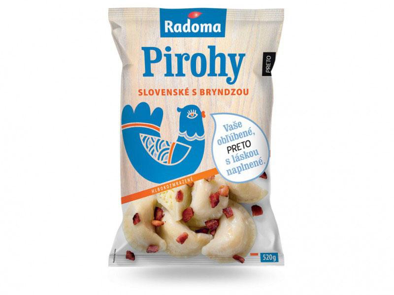 Slovenské pirohy s bryndzou 520 g
