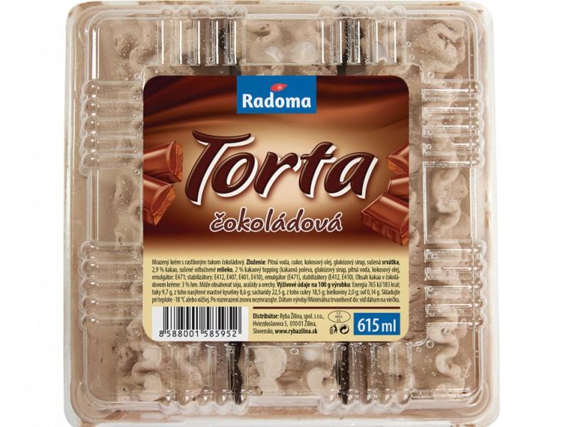 Torta čokoládová 615 ml