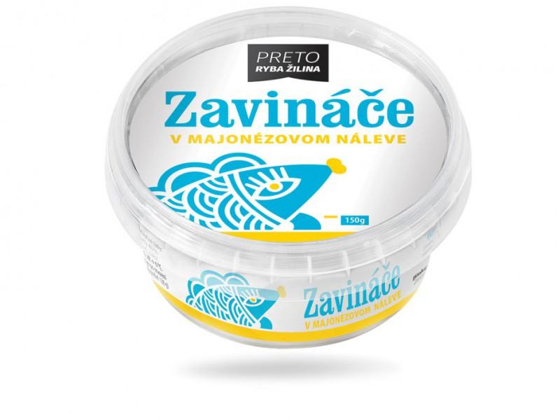 Zavináče v majonézovom náleve