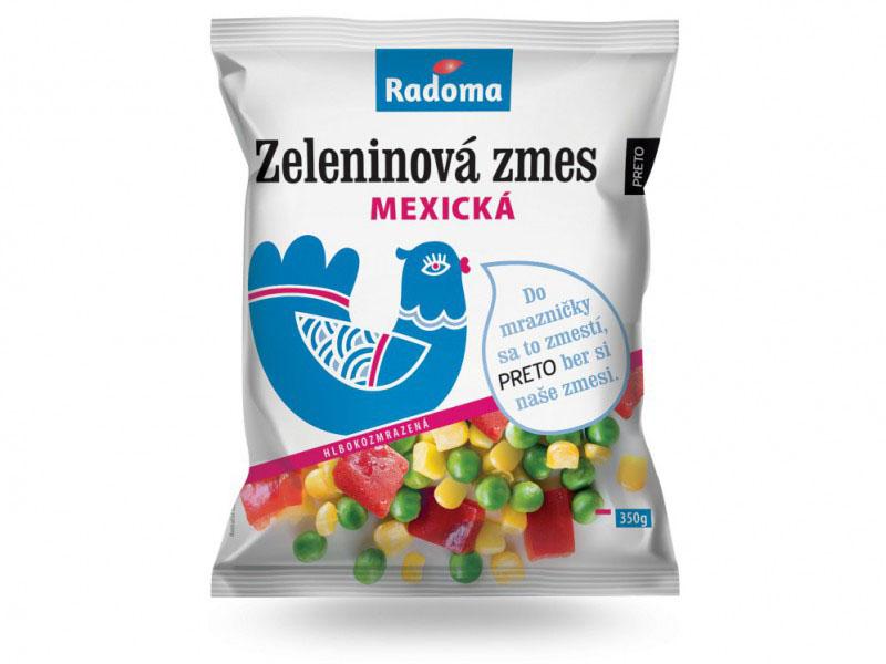 Zeleninová zmes mexická 350 g