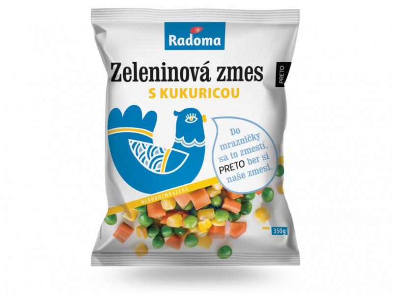 Zeleninová zmes s kukuricou 350 g