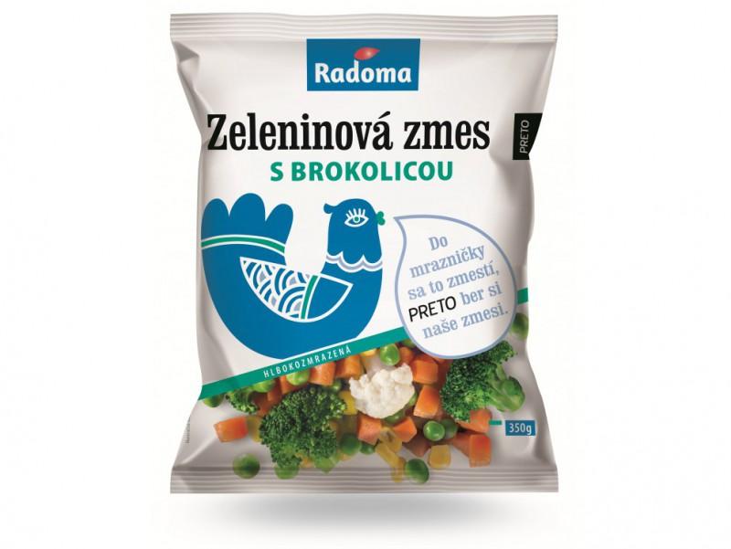 Zeleninová zmes s brokolicou 350 g