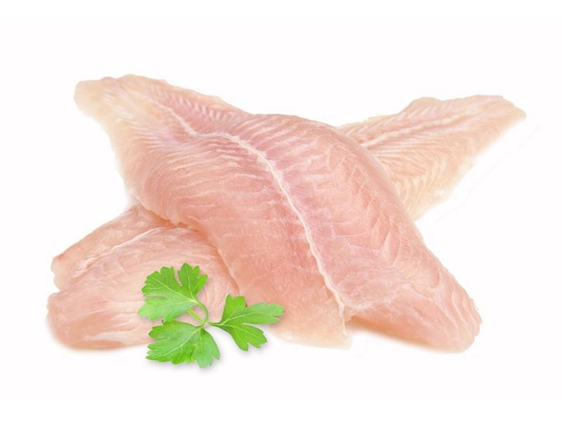 Pangasius filety 1kg gl. 20%